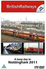 Busy Day In Nottingham Dvd: Toton Traction Depot Beeston Station East Midlands
