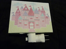 Pkg of 2~Kids Night Light by Tri-Coastal Designs Princess Castle on Canvas - NEW