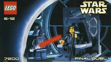 LEGO STAR WARS FINAL DUEL I #7200 PALPATINE DARTH VADER 100% COMPLETE GUARANTEE