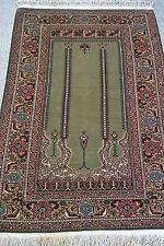 Tapis Turc noué fait main laine fin teppiche tappeto rugs alfombra carpet 130x90