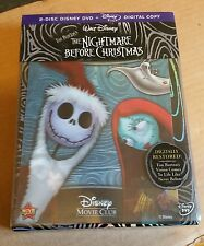 Nightmare Before Christmas DVD + Digital Copy + 3D Lenticular Collectors Card