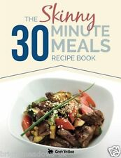 Skinny 30 Minute Meals Diet Cook Book Healthy Eating Weight Loss Nutrition Lean