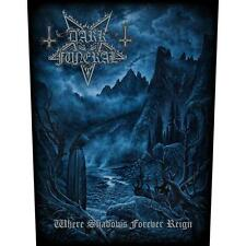 DARK Funeral-where Shadows Forever Reign schiena ricamate patch BACK