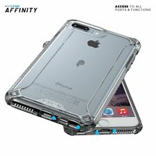 POETIC No Bulk Dual material Protective Bumper Case for Apple iPhone7 Plus Clear