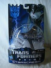 Transformers Prime Starscream  MOC Canadian Variant Card First Edition 2012