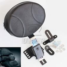 Plug In Driver Backrest Kit for Harley Touring Bagger Road King Glide 1997-2015