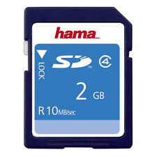 Hama 2Gb Class 4 SD Memory Card - NEW UK STOCK