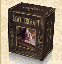 130 Rare Craft Leather Work Books on DVD Learn Tanning Hide Shoe Making Bags 35