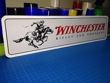 """Winchester aluminum sign 6"""" x 24"""""""