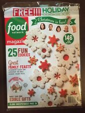 Food Network Magazine Fun Cookies Free Holiday Cookbook Dec 2015 FREE SHIPPING!