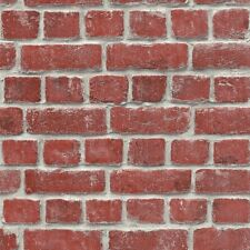 Red House Brick Wallpaper Traditional Wall Design by Rasch 213614