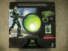 Microsoft Xbox Special Clear Green Console Halo Edition Console NEW Sealed #29