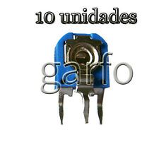 10 Potenciometro Vertical 5000 5K Ohm 1/2 W  Resistencia Variable ajustable
