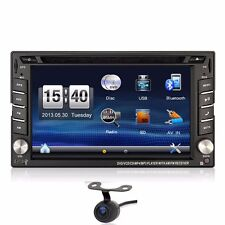 FreeCamera GPS Navigator Car Radio Stereo CD DVD Player MP3 Bluetooth for Nissan