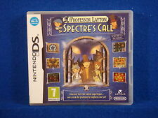 ds PROFESSOR LAYTON And The Spectre's Call Lite DSI 3DS Spectres Nintendo PAL