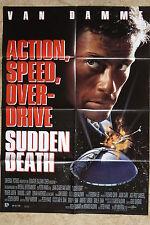(P148) KINOPLAKAT Sudden Death (1995) Jean-Claude Van Damme, Powers Boothe