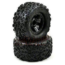 PRO-LINE Big Joe II Desperado Wheels Black 1:16 E-Revo Summit RC Cars #10105-11