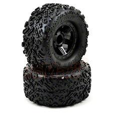PRO-LINE Big Joe II Desperado Wheels Black 1:16 E-Revo Summit RC Cars #10105-11