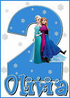 FROZEN OLAF OR ELSA BIRTHDAY ANY AGE IRON ON TRANSFER, CREATE A T SHIRT CHEAPLY