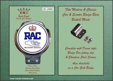 Royale Car Bar Badge - ROYAL AUTOMOBILE CLUB RECOVERY SERVICE (RAC) - B1.2998