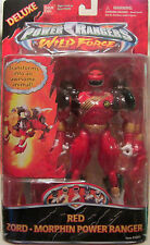 Saban's Power Rangers Wild Force Deluxe Red Zord - Morphin Power Ranger