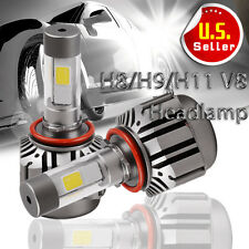 YITA 120W 12000LM CREE LED H11 Fog Light Kit Bulbs Xenon White 6000K High Power