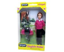Breyer Horse Classic Abigail English Rider Doll English Saddle Bridle #61068 NIB