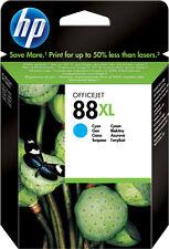 HP 88 xl, cyan, NEUF, MHD 05/2014, rech. M. tva; seulement zufr. clients