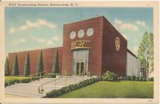 WGY Broadcasting Station Schenectady NY Postcard 1949