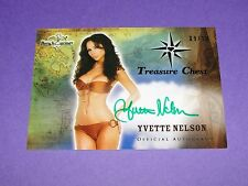 2014 Benchwarmer YVETTE NELSON Treasure Chest Auto/10 JUST GO WITH IT Fredericks