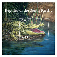 Palau - Reptiles of South Pacific, 2014 - 1415 S/S MNH