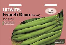 Unwins Pictorial Packet - Vegetable - French Bean (Dwarf)Top Crop - 70 Seeds
