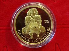 Canada 2009 14-Karat $100 Gold Coin - 10th Anniversary of Nunavut – No Tax