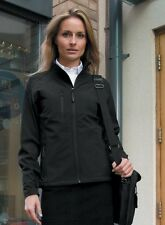 Result La Femme 2 Layer base Softshell Jacket Black Ladies 2XL Size18 Box7478 V