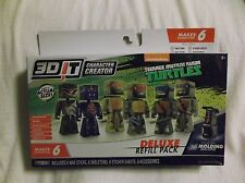 3D IT Character Creator TMNT Delux Refill Pack.  2015 ages 8+