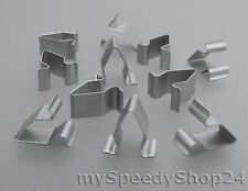 5x Blech Klemme Metall Halterklammern Mutter Audi VW Seat Skoda 3B9867289