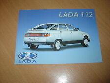 FEUILLET Lada 112 de 2004