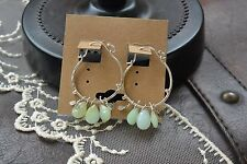 Handcrafted sterling silver opal earrings by Naomi Herndon from Sundance Catalo