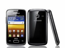 Samsung Galaxy Y Duos GT-S6102 Y Dual Sim Unlocked 3G Smartphone Black with Box