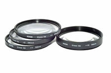 Kood 58mm Macro Close-Up Filter Set +1 +2 +4 +10 for Digital & Film Cameras