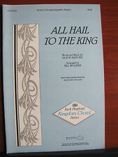 All Hail To The King - 1987 sheet music - vocal, piano - gospel OCT06129