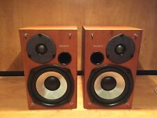 Sony CPX-22 Bookshelf Speakers Pair 100w RMS Per Channel