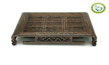 """Wenge Wood Solid Gongfu Tea Table Serving Tray 20.47""""x12.6"""" / """"52*32cm"""