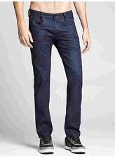 $128 Guess Alameda Slim Tapered Jeans In Hail Wash Indigo Size 30