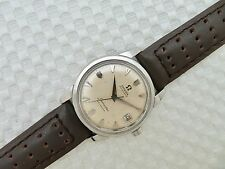 Mens 1959 OMEGA SEAMASTER CALENDAR Wristwatch 2849 11SC - cal.503 - 20 Jewels