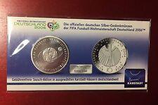 Deutschland 10 Euro Silber FIFA Fußball-WM  2004 Deutschland 2. Ausgabe 2006