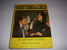 Vintage Gone With the Wind Motion Picture Edition, Complete, 1940, Softcover!