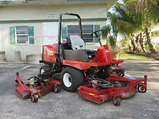 Toro Groundsmaster 4000D Batwing 11 ft Rotary Mower WAM 3275 hrs 4 wheel drive