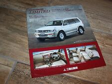 Prospectus / Sales Single Sheet Brochure MITSUBISHI Challenger  Limited 1997 //