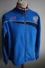 FORWARD Russia National Ski Team Fleecejacke Gr. L Russland blau jacket - neuw.